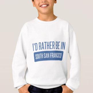 Eu preferencialmente estaria em San Francisco sul Agasalho