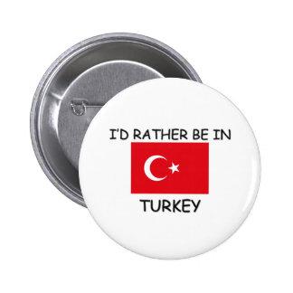 Eu preferencialmente estaria em Turquia Pins