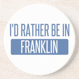 Eu preferencialmente estaria em WI de Franklin Porta Copos De Arenito