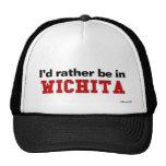 Eu preferencialmente estaria em Wichita Boné