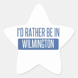 Eu preferencialmente estaria em Wilmington DE Adesivo Estrela