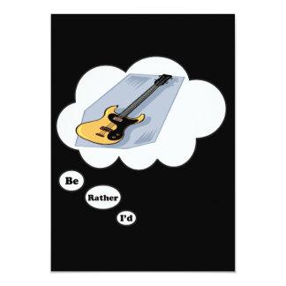 eu preferencialmente estaria jogando a guitarra convite personalizado