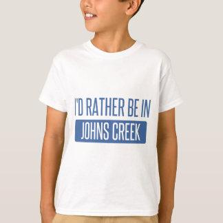Eu preferencialmente estaria na angra de Johns Camiseta