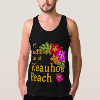 Eu preferencialmente estaria na praia de Keauhou, Regata