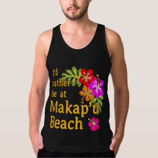 Eu preferencialmente estaria na praia de Makap'u, Regata