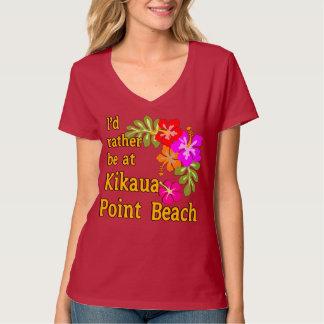 Eu preferencialmente estaria na praia do ponto de camiseta