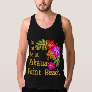 Eu preferencialmente estaria na praia do ponto de regata