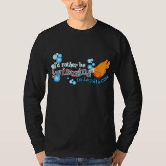 Eu preferencialmente estaria nadando no T da angra T-shirt