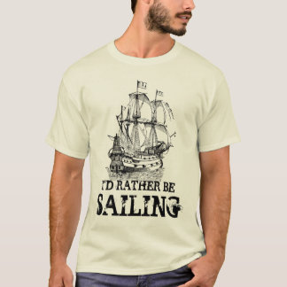 Eu preferencialmente estaria navegando a camisa