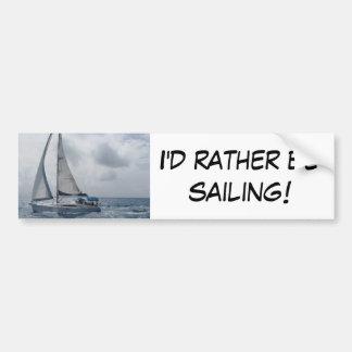 Eu preferencialmente estaria navegando adesivo