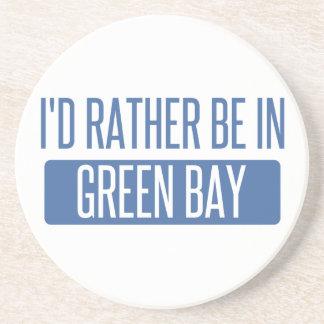 Eu preferencialmente estaria no Green Bay Porta Copos De Arenito