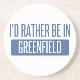 Eu preferencialmente estaria no Greenfield Porta Copos De Arenito