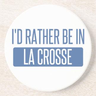 Eu preferencialmente estaria no La Crosse Porta Copos De Arenito