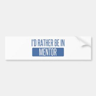 Eu preferencialmente estaria no mentor adesivo para carro