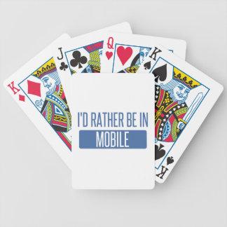 Eu preferencialmente estaria no móbil baralho para pôquer
