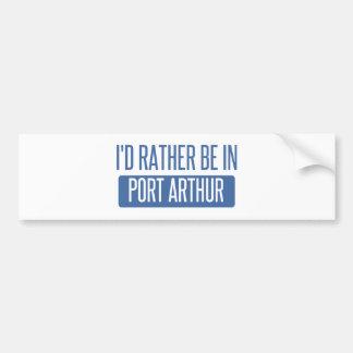 Eu preferencialmente estaria no Port Arthur Adesivo Para Carro