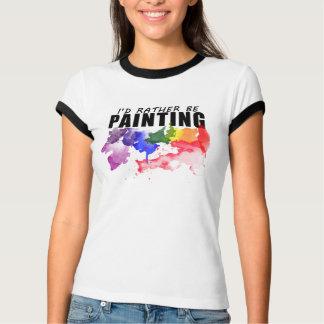Eu preferencialmente estaria pintando a camisa do