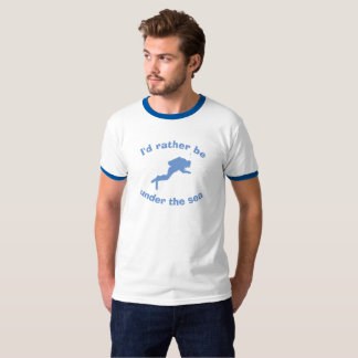 Eu preferencialmente estaria sob o mar. Camisa