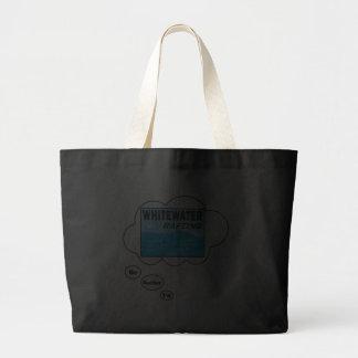 Eu preferencialmente estaria transportando bolsas para compras