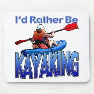 Eu preferencialmente Kayaking Mouse Pad