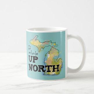 Eu preferencialmente seria acima de Michigan norte Caneca De Café