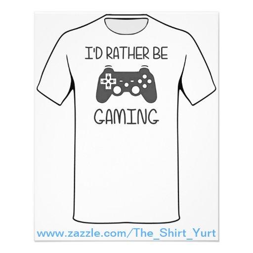 Eu preferencialmente seria jogo video panfleto personalizados