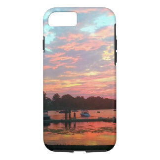 Eu preferencialmente seria… por do sol na doca capa iPhone 7