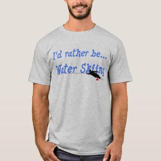 Eu preferencialmente seria t-shirt do esqui camiseta