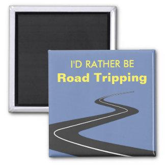 Eu preferencialmente seria tropeço da estrada ímã quadrado