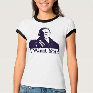 Eu quero-o! Camisa de Barack Obama