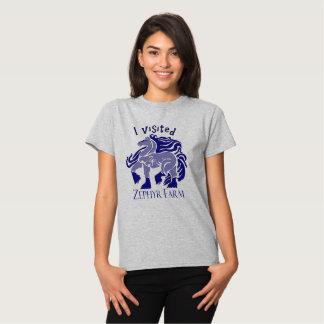 Eu quero um azul do cigano camisetas