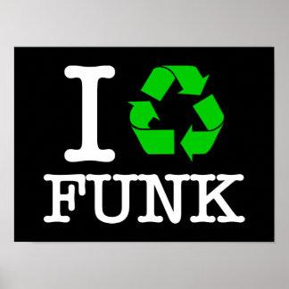 Eu recicl o funk poster