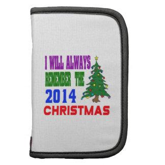 Eu recordarei sempre o Natal 2014 Organizador