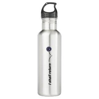 Eu retornarei a garrafa de água interna de