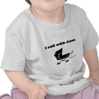 Eu rolo com Jesus Camisetas