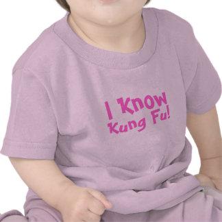Eu sei, Kung Fu! Tshirt