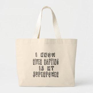 Eu sei que transportar de rio é minha superpotênci bolsa