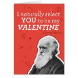 Eu seleciono-o naturalmente ser meus namorados - D Cartão
