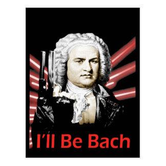 Eu serei cartão de Bach