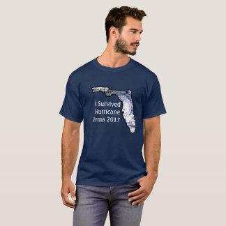 Eu sobrevivi à camisa 2017 de Irma do furacão