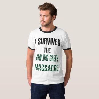Eu sobrevivi à camisa da campainha do massacre de