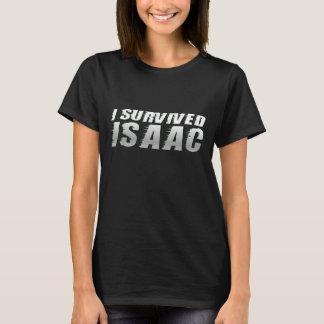 Eu sobrevivi a Isaac - camisa de Isaac do furacão