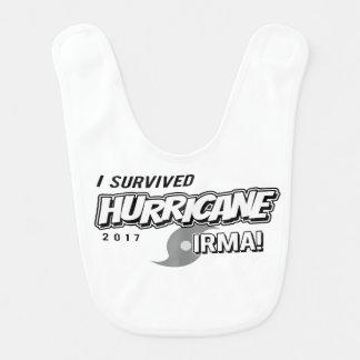 Eu sobrevivi ao babador do bebê de Irma do furacão