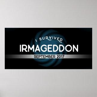 Eu sobrevivi ao poster de Irmageddon