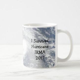 Eu sobrevivi do furacão de IRMA à caneca 2017 de