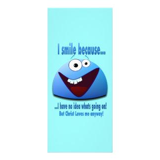 Eu sorrio porque… V2 10.16 X 22.86cm Panfleto