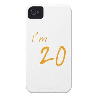 Eu sou 20 capas para iPhone 4 Case-Mate
