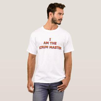 Eu sou a camisa do mestre do scrum
