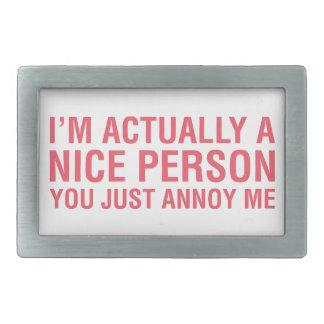 Eu sou agradável