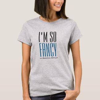 Eu sou assim que design extravagante das camisetas